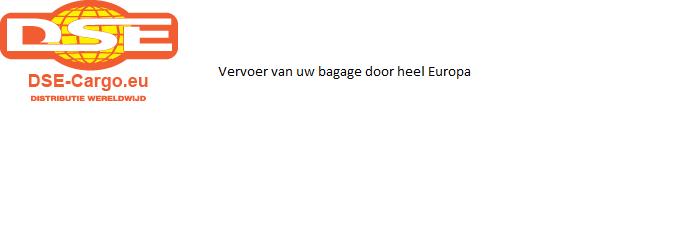 Voor verzending van al uw bagage binnen europa.